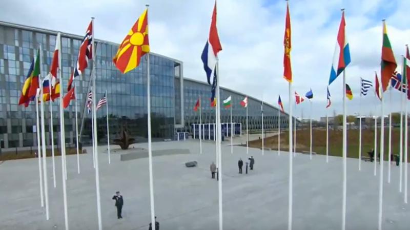 Moment shumë emocionues! Flamuri i Maqedonisë së Veriut ngritet