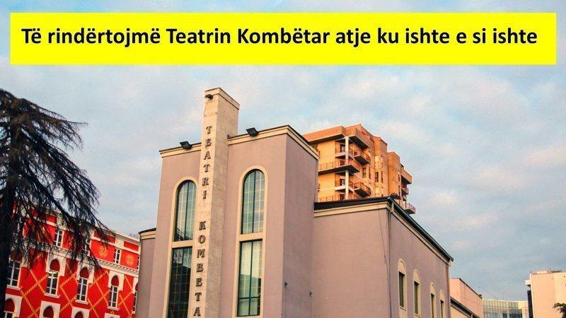 AMT, nis mbledhjen e firmave për rindërtimin e Teatrit Kombëtar