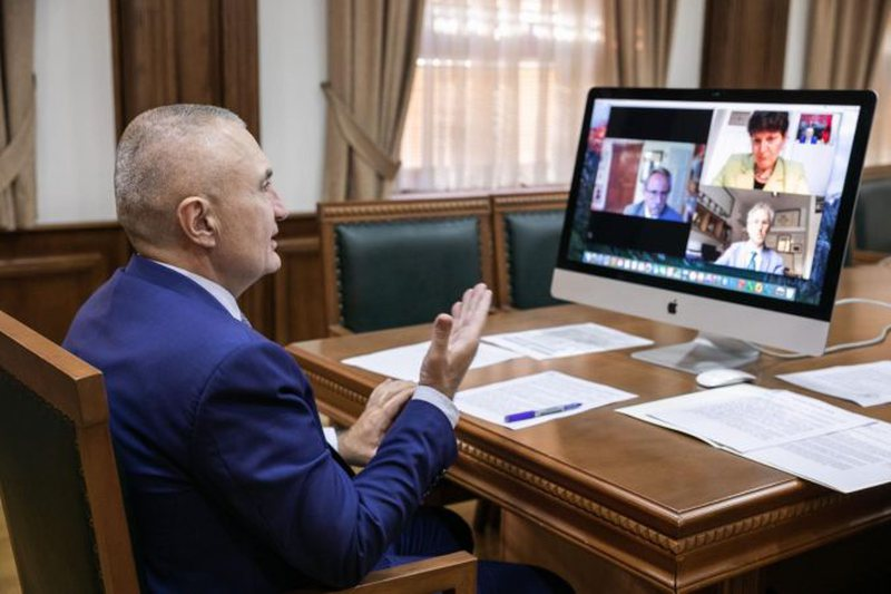 """Meta video-konferencë me përfaqësues të """"Europa"""