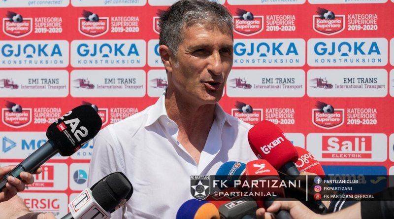 Sormani: Partizani do një vend në Europa League, titulli tani