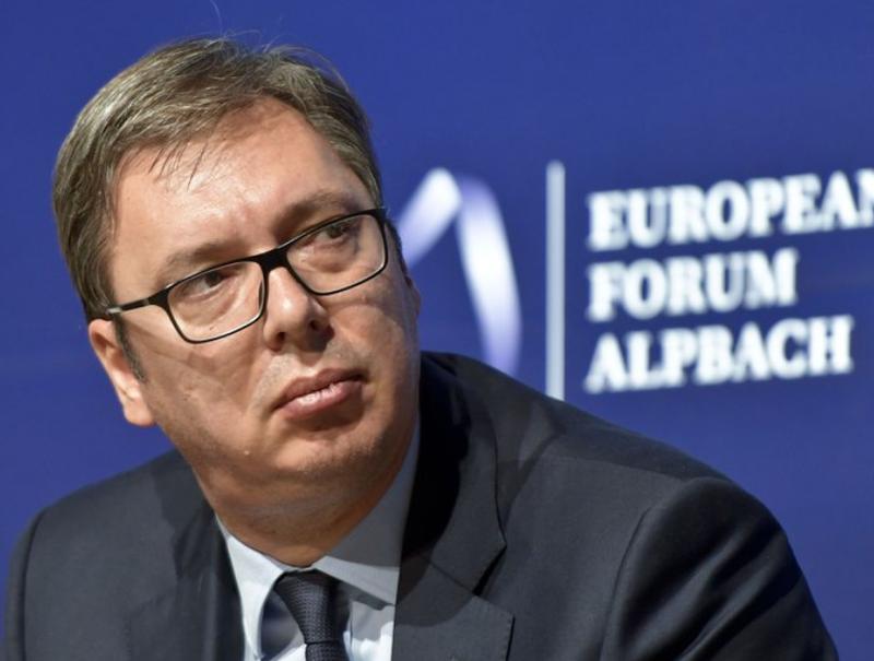 Vuçiç i prerë se Serbia nuk do të njohë