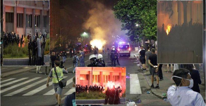 Plas keq në Serbi, SHBA dhe BE reagojnë të alarmuara,