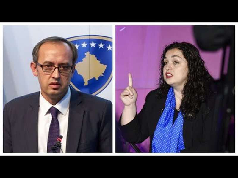 Vjosa Osmani përplaset me Hotin për dialogun Kosovë-Serbi,