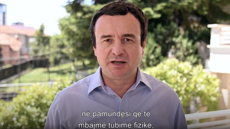 """""""Dështimi është i gjithanshëm"""", Albin Kurti del"""