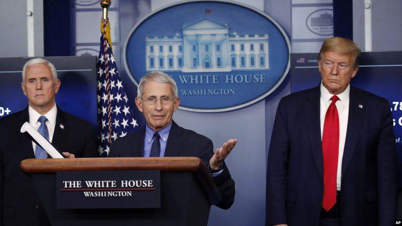 Marrëdhëniet mes Fauçit dhe Trump të tensionuara?
