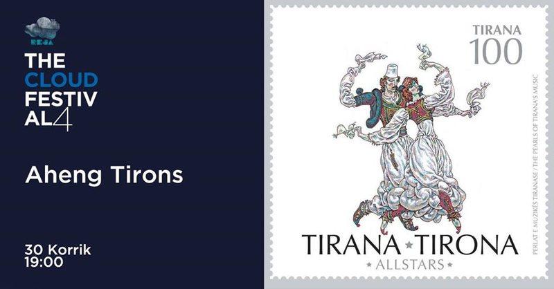 """""""Aheng Tironc"""" dhe albumi muzikor """"Tirana 100"""", për"""