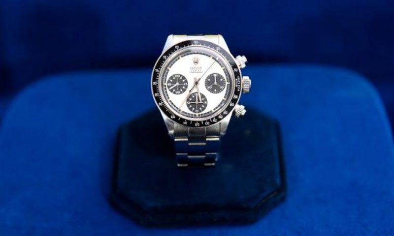 E bleu orën për 20 paund në një dyqan të dorës