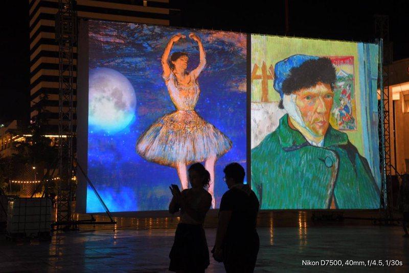 """""""Visual Art Gallery"""", me mbi 240 vepra të piktorëve"""
