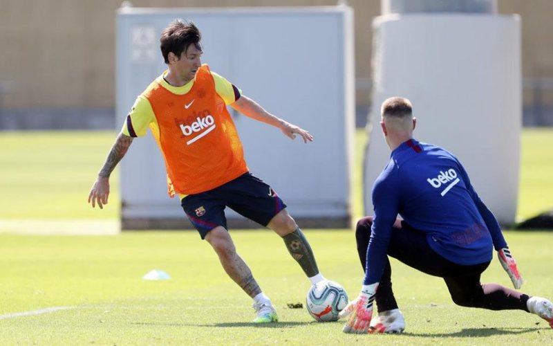 Messi shuan dyshimet për dëmtim dhe del në stërvitje,