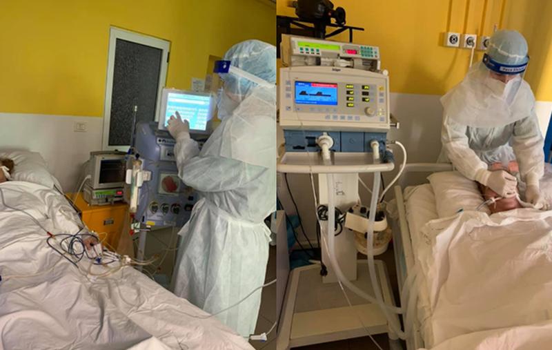 Dhuroi dy respiratorë dhe një pajisje dialize në spitalin COVID