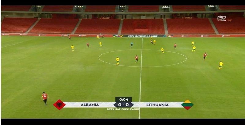 Gabim në mbrojtje, Lituania kalon në avantazh ndaj