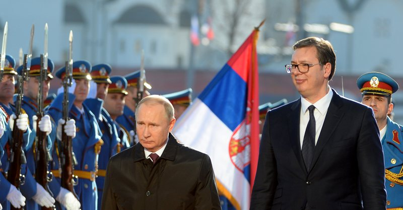 Vuçiç raporton te Putin për paktin e Uashingtonit, Rusia