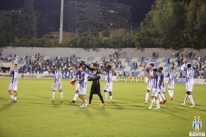 Tirana po projekton fazën e grupeve në Ligën e Europës,
