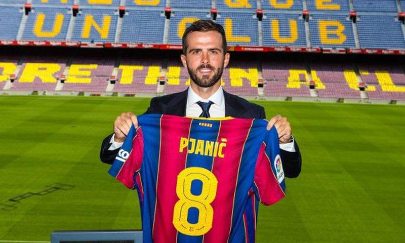 Pjaniç prezantohet tek Barcelona, merr numrin 8 të Andres