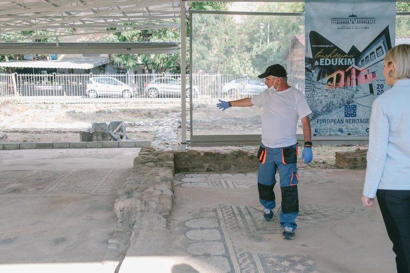 Elva Margariti: Mozaiku i Tiranës, një nga dëshmitë