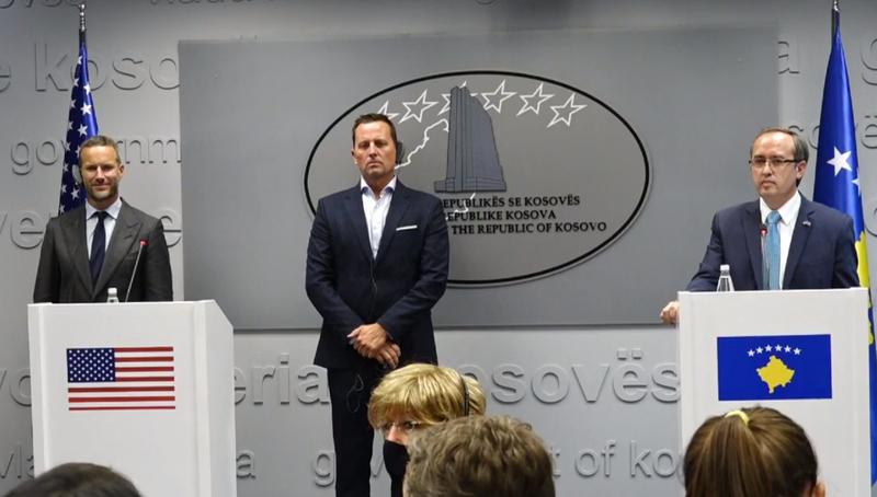 Hoti takon delegacionin e SHBA, Kosova përfiton 100 mln USD investime,