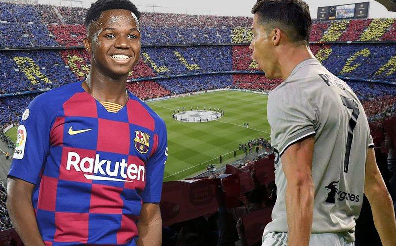 Tronditen tek Barcelona, Ansu Fati i ngjan Ronaldos e jo Leo Mesit