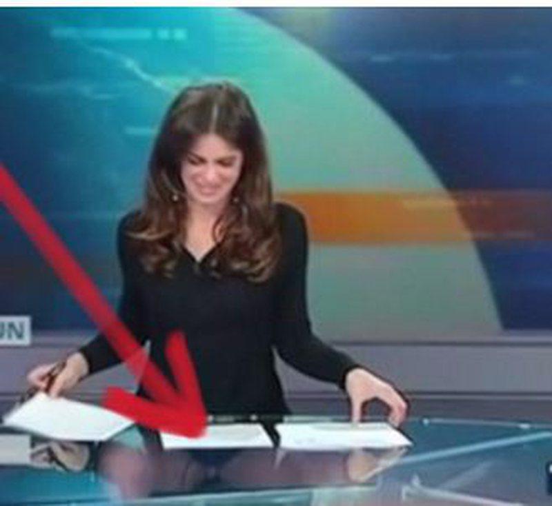 Po jepte edicionin e lajmeve, gazetares së njohur i dalin të gjitha