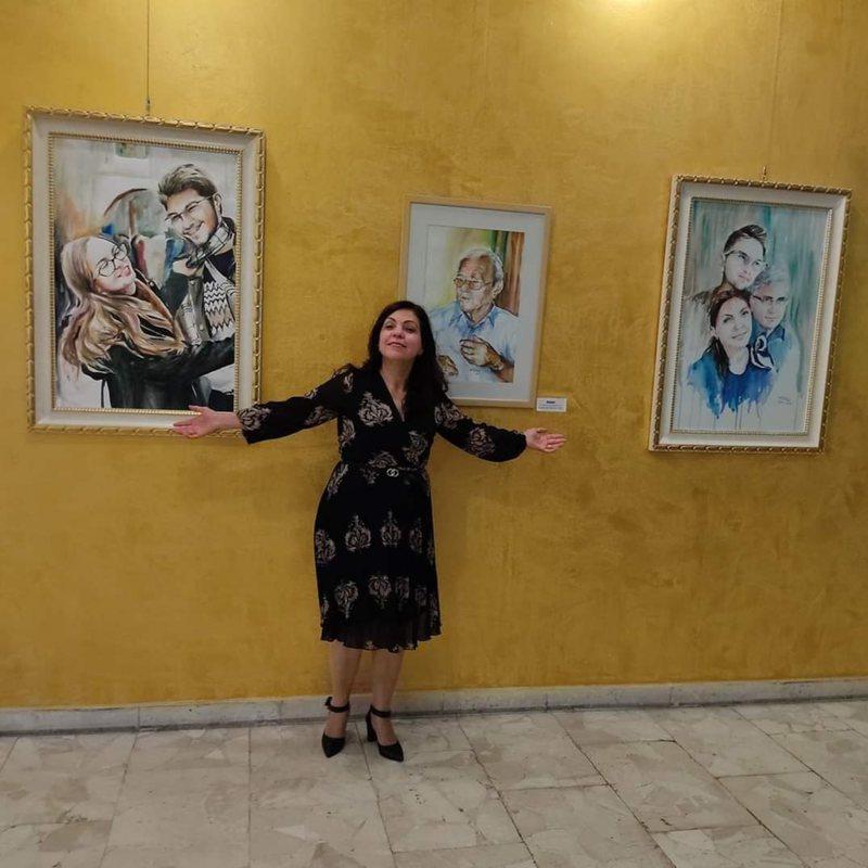 """Shpresa Milaqi me ekspozitën """"Rrugëtim"""" në Muzeun"""