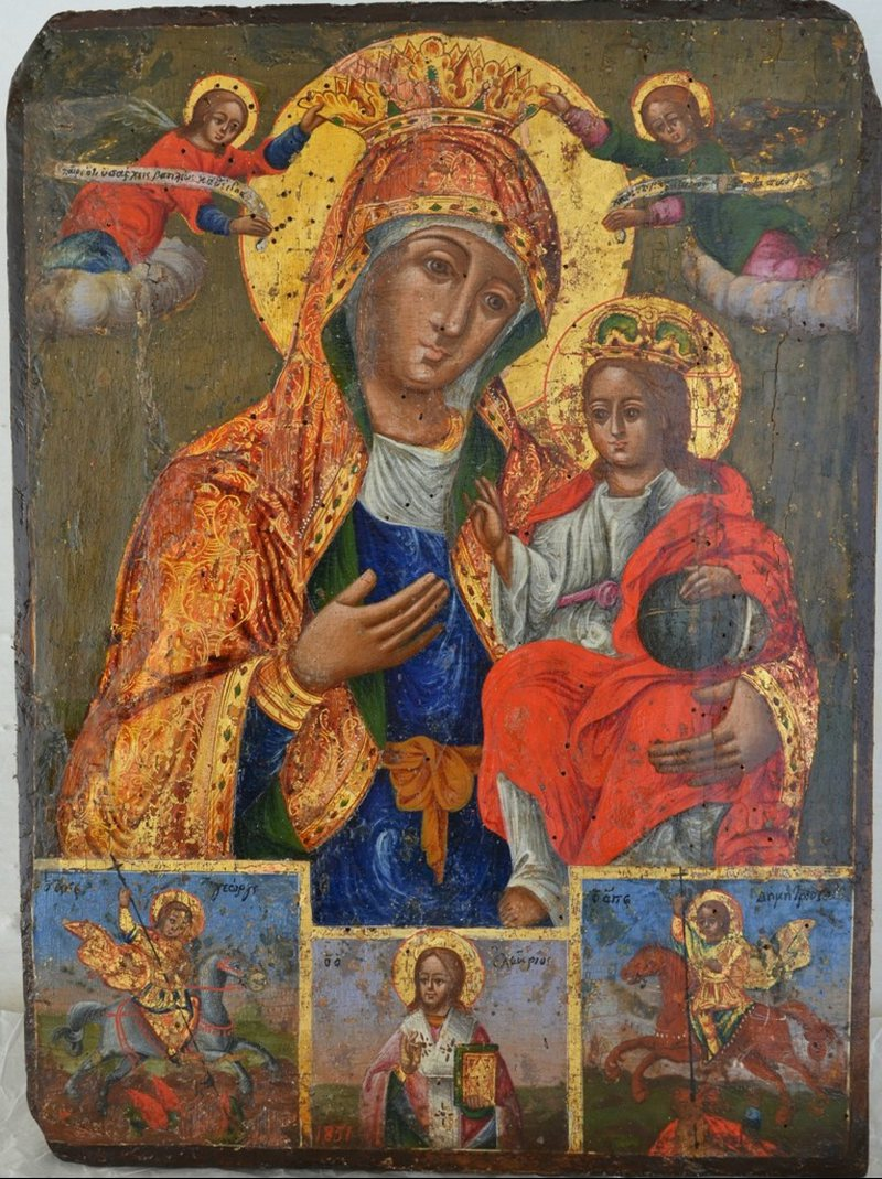 """Muzeu i ikonografisë """"Onufri"""", përfundon restaurimi i dy"""