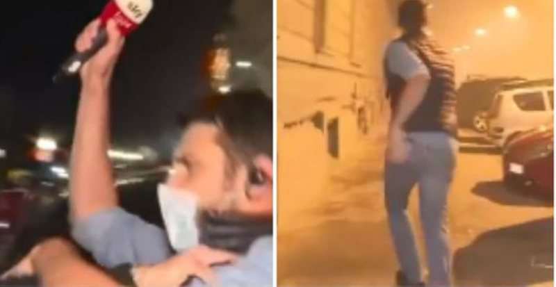 (VIDEO) The situation gets out of control, violence and clashes /
