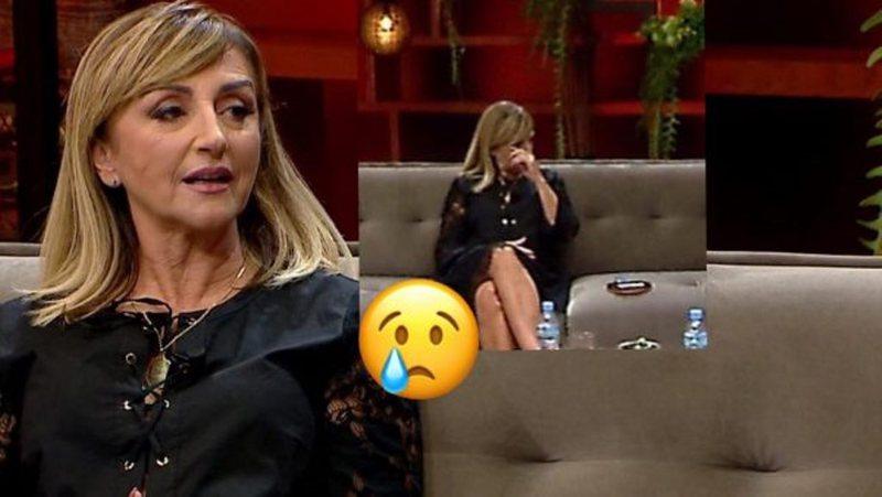 Marjana Kondi shpërthen në lot në mes të emisionit, aktorja