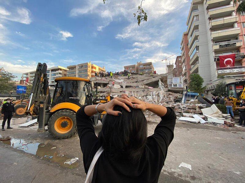 Tërmeti i fortë në Turqi shkakton një tragjedi, rritet
