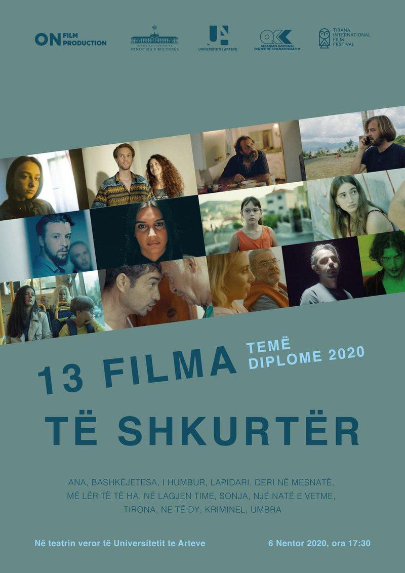 13 filma të shkurtër shfaqen sot premierë, në Teatrin Veror