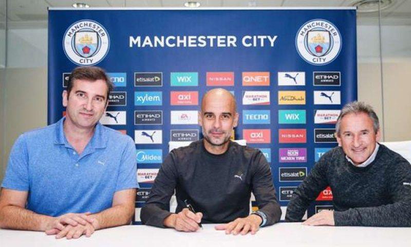 Guardiola mbetet në Premier League, rinovon kontratë me Sitin deri