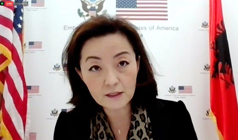 """""""Shtetet e Bashkuara mbështesin fuqimisht përpjekjet për"""