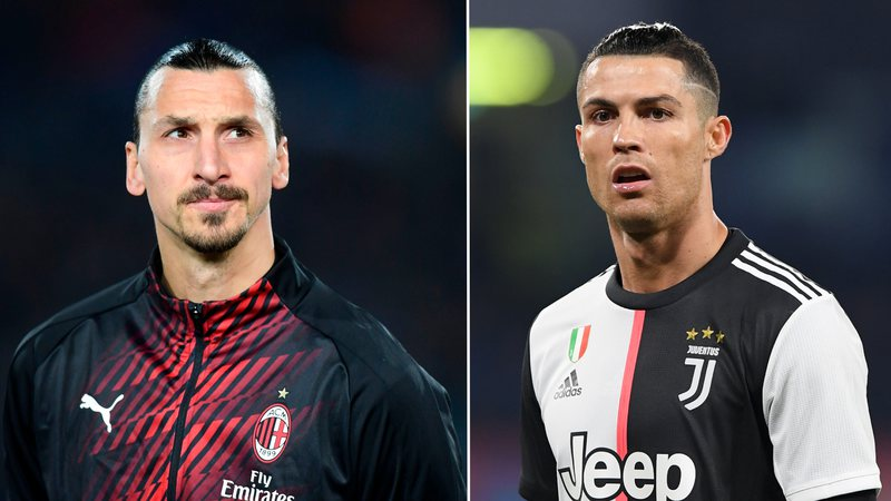 """""""Pleqtë"""" Ibrahimoviç e Ronaldo po magjepsin Italinë"""