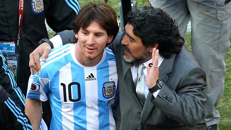 Messi reagon për humbjen e Maradonës: Diego është i