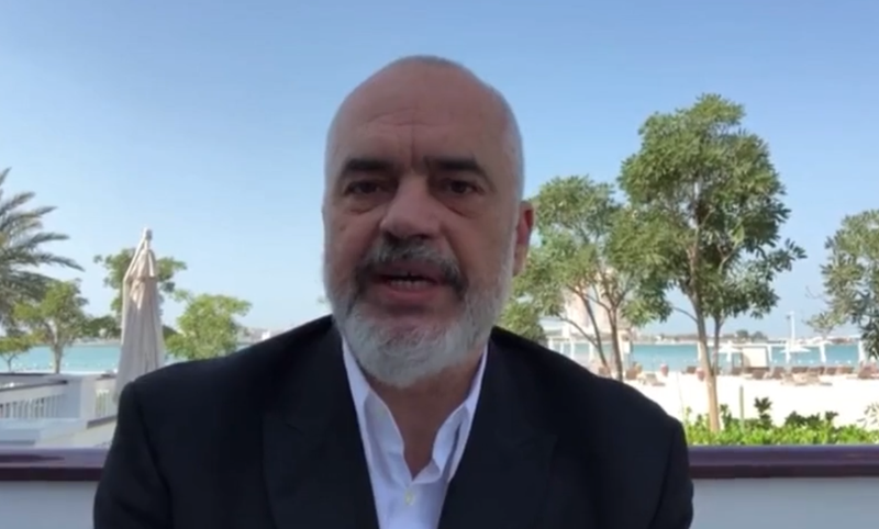 Traveled to Dubai, Prime Minister Rama gives fantastic news to all  Albanians: Today we signed the agreement for ... (VIDEO) - Politike