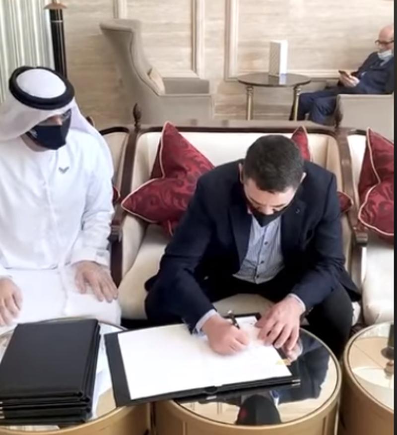Shkoi në Dubai me kryeministrin Rama, ministri Ahmetaj firmos