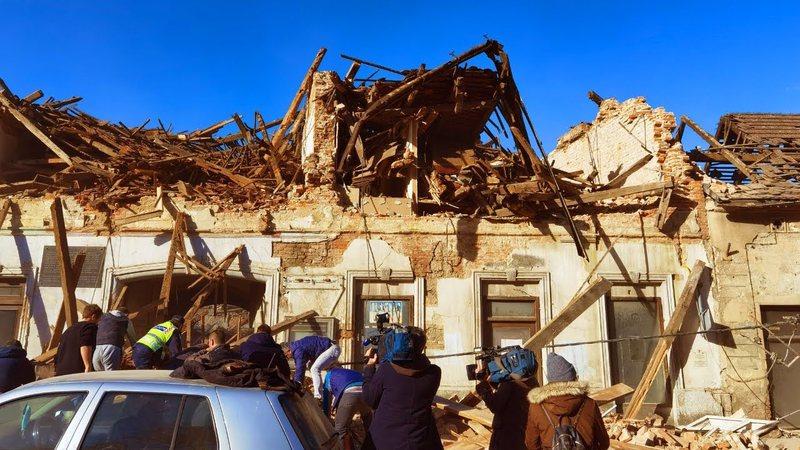 6.3 magnitude earthquake shakes Croatia, causing extensive property damage &