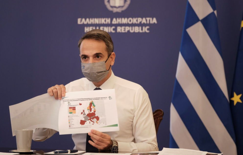 COVID-19 pandemic, Greece restores strict austerity measures, from tomorrow the