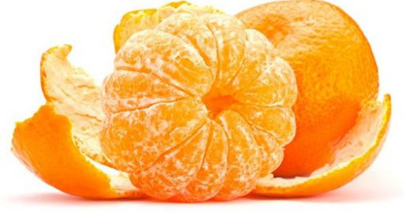 You will be surprised by the positive effect of consuming mandarin! Here you use