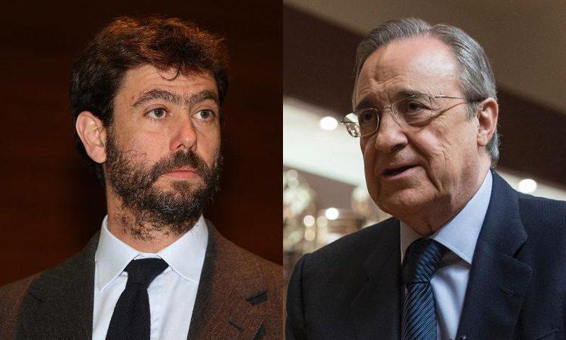Perez and Anjeli challenge UEFA, meet to give life to the European Super League