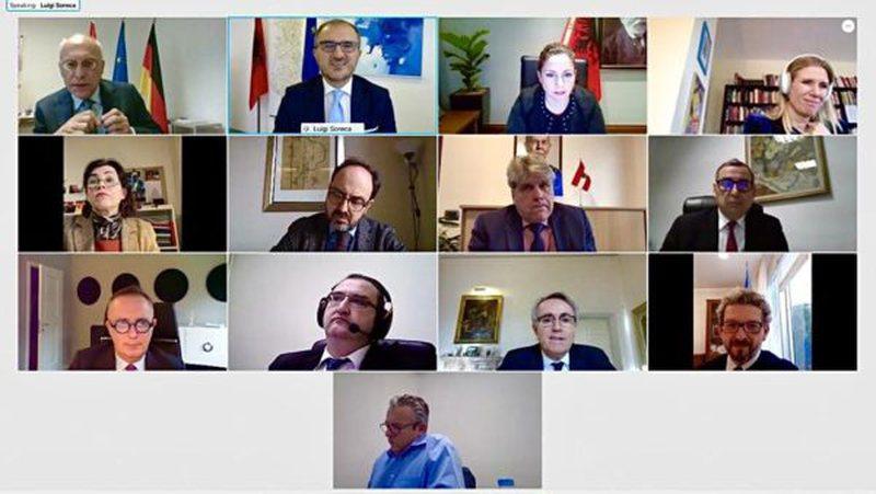 Pas videokonferencës me ambasadorët e BE, Olta Xhaçka