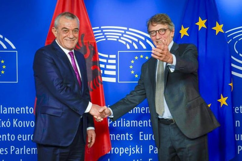 The good news comes from the President of the European Parliament for Albania,
