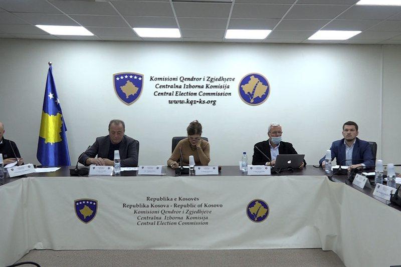 Kosovo / CEC blocks lists of candidates of Vetëvendosje, AAK and