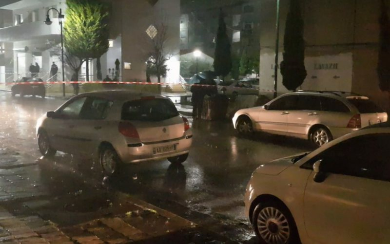 The mafia assassination in Durrës, Tonin Vocaj arrives at the scene