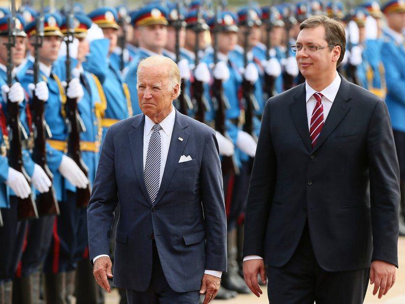 Joe Biden në krah të Kosovës, letër Vuçiç-it