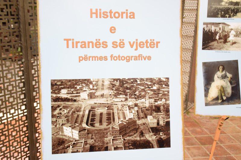 """Ekspozita """"Historia e Tiranës së vjetër përmes"""