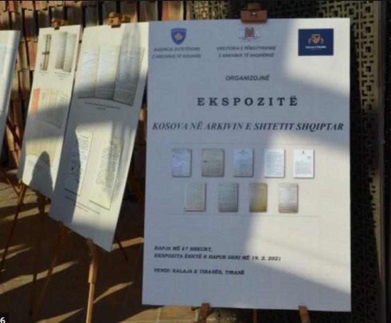"""""""Kosova në dokumentet e Arkivit të Shtetit"""","""