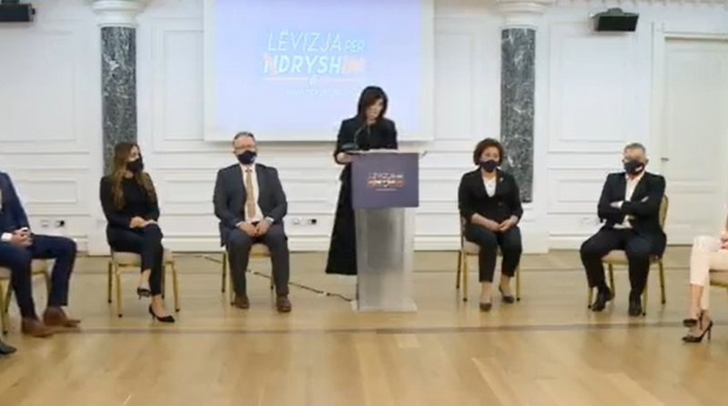 Jozefina Topalli officially opens the campaign for Tirana, presents the