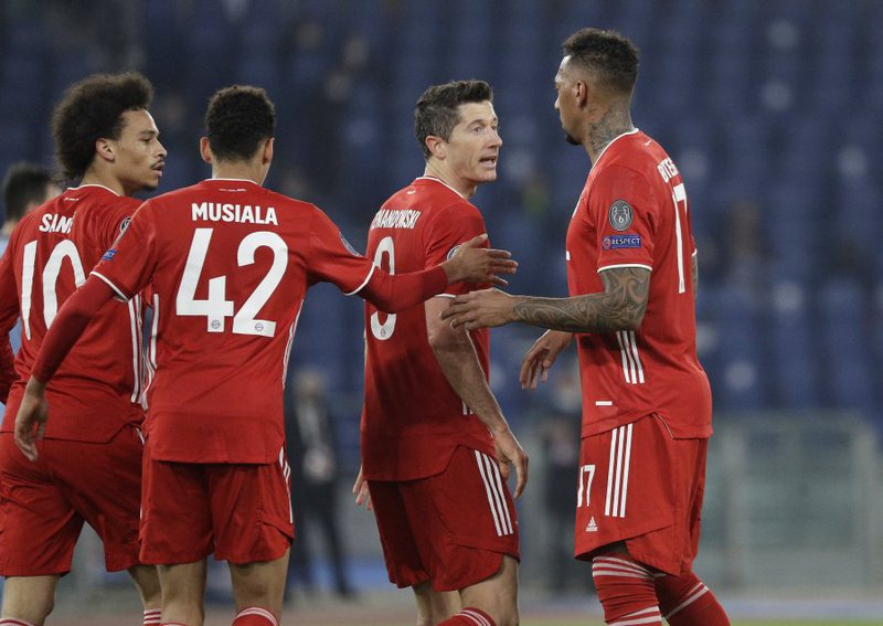 Bayern destroy Lazio and watch from the quarterfinals, Chelsea give