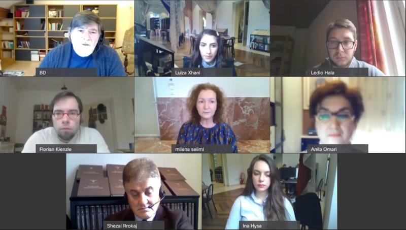 """COD, zhvillohet takimi i dytë për """"Gjuhën shqipe në"""