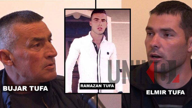 The son is accused of killing the well-known businessman, Elmir Tufa's