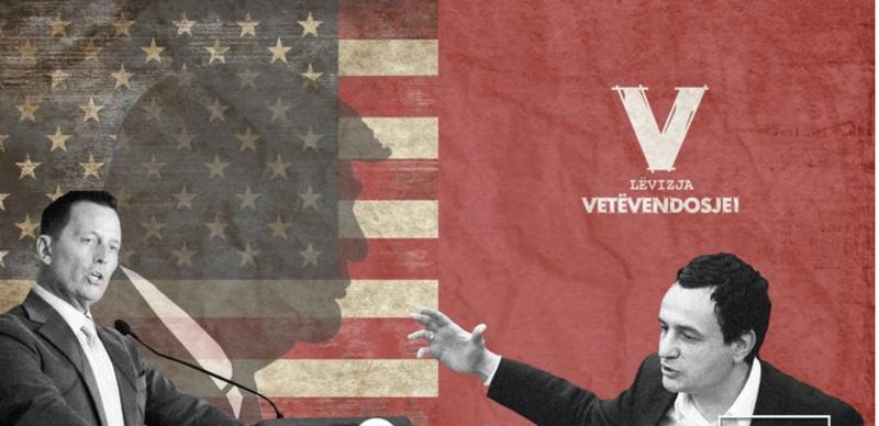 Grenell slams Albin Kurti: He is anti-American, he has been against Clinton,